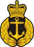 Значок крышки военно-морского флота Стоковые Изображения