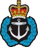 Значок крышки военно-морского флота Стоковые Изображения RF
