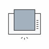 Значок клобука экстрактора Стоковая Фотография RF