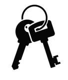 Значок ключей бесплатная иллюстрация