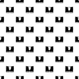 Значок людей кратко, простой черный стиль бесплатная иллюстрация