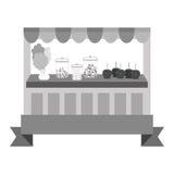 Значок магазина конфеты иллюстрация штока