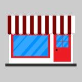 Значок магазина шатра Стоковое Изображение
