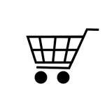 Значок магазинной тележкаи вектора Стоковая Фотография