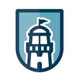Значок маяка Стоковая Фотография