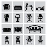 Значок мебели бесплатная иллюстрация