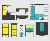 Значок мебели Стоковые Изображения RF