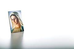Значок нашей дамы Medjugorje благословленная дева мария стоковое изображение rf