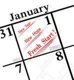 значок 2015 Новых Годов Стоковые Фотографии RF