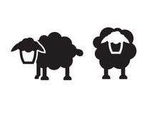 Значок овец бесплатная иллюстрация