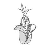 Значок овоща мозоли иллюстрация вектора