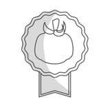 Значок овоща томата бесплатная иллюстрация