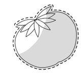 Значок овоща томата иллюстрация штока