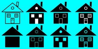 Значок дома, домашний значок бесплатная иллюстрация