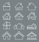 Значок дома плана бесплатная иллюстрация