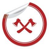 Значок оси Символ оси Стоковая Фотография RF