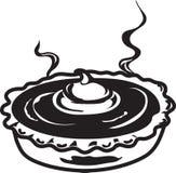 Значок пирога тыквы иллюстрация штока