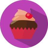 Значок пирожного Стоковое Фото