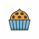 Значок пирожных Стоковые Фотографии RF