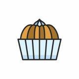 Значок пирожных Стоковая Фотография