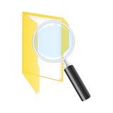 Значок поиска. иллюстрация вектора