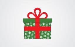 Значок подарочной коробки вектора Бесплатная Иллюстрация