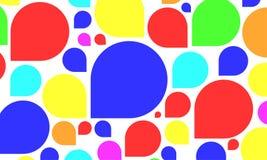 Значок пузыря речи Стоковая Фотография