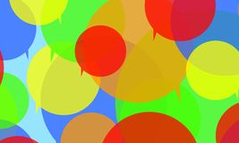 Значок пузыря речи Стоковое Изображение RF