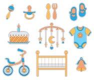 Значок ребёнка иллюстрация вектора
