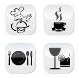 Значок ресторана бесплатная иллюстрация