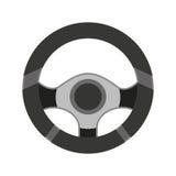 значок рулевого колеса изолированный иллюстрация вектора