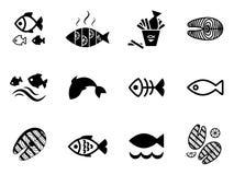 Значок рыб Бесплатная Иллюстрация