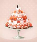 Значок свадебного пирога бесплатная иллюстрация