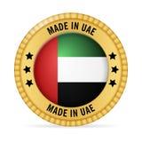 Значок сделанный в ОАЭ Стоковые Изображения