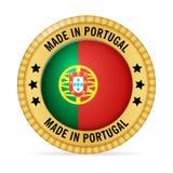 Значок сделанный в Португалии Стоковое Фото