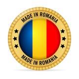 Значок сделанный в Румынии Стоковые Изображения RF
