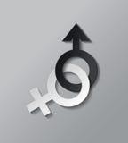 Значок секса Стоковое Изображение