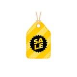 Значок скидки платы ярлыка продажи Стоковая Фотография RF
