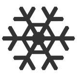 Значок снежинки бесплатная иллюстрация