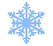 Значок снежинки Стоковое Фото