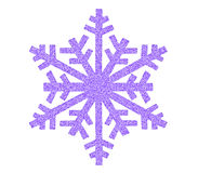 Значок снежинки Стоковые Фото