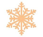 Значок снежинки Стоковые Изображения RF