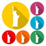 Значок статуи свободы - иллюстрация бесплатная иллюстрация
