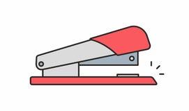 Значок сшивателя Стоковые Изображения RF