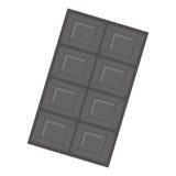 Значок сладостного шоколада иллюстрация вектора