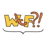 Значок слова гриба мухомора искусства шипучки Стоковая Фотография RF