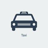 Значок такси вектор Стоковое Изображение RF