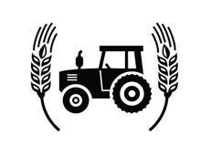 Значок трактора иллюстрация вектора