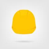 Значок трудной шляпы Стоковые Изображения RF