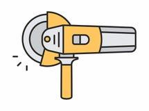 Значок угловой машины Стоковая Фотография